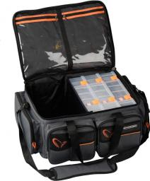 Savage Gear System Box Bag XL 3 Boxes + Waterproof cover (54778)