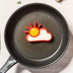 Kemis Foremka do jajek słońce i chmurka
