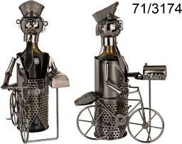 Kemis Metalowy stojak na wino - listonosz