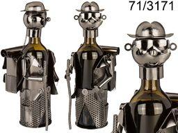 Kemis Metalowy stojak na wino - wędrowiec