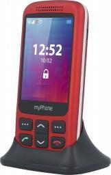 Telefon komórkowy myPhone Halo S czerwony