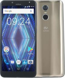 Smartfon myPhone Prime 18x9 16 GB Dual SIM Złoty  (MYPHONE PRIME 18X9 MIRROR GOLD)