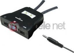Przełącznik Manhattan 2-Port Mini KVM Switch 151245