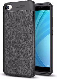 Hurtel Litchi Pattern elastyczne etui pokrowiec Xiaomi Redmi 5A czarny
