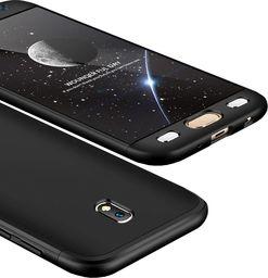 Hurtel Etui Samsung Galaxy J7 2017 J730 360 Protection pokrowiec na przód + tył czarny