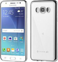 Hurtel Żelowe etui Metalic Slim na Samsung Galaxy J5 2016 J510 czarne