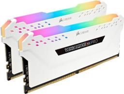 Pamięć Corsair Vengeance RGB PRO, DDR4, 32 GB, 3200MHz, CL16 (CMW32GX4M2C3200C16W)