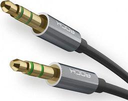 Kabel Rock MiniJack 3.5 mm - MiniJack 3.5 mm, 1, Czarny (6950290691898)