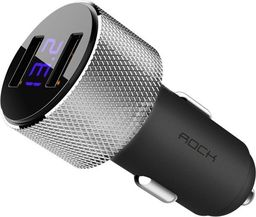 Ładowarka Rock Rock Sitor Led 2-port Usb Car Charger Black