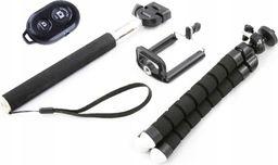Selfie stick Xrec 4w1 / Statyw Elastyczny / Pilot / Monopod / Uchwyt Na Telefon / Smartfon