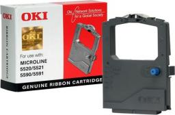 OKI Taśma do drukarki Microline ML5520 / ML5521 / ML5590 / ML5591 czarna (01126301)
