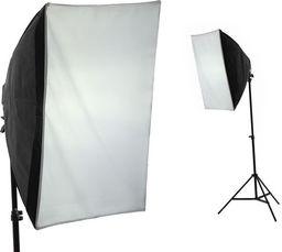 IShoot Zestaw Softbox 50x70cm + Statyw 220cm + Żarówka 85w = 400w