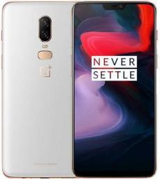 Smartfon OnePlus 6 128 GB Dual SIM Biały  (6921815605607)