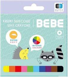 Noster Kredki świecowe 10 kolorów B&B Kids Pastel NOSTER