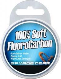 Savage Gear Soft Fluoro Carbon 1.0mm 15m 111lb 50.5kg (54859)