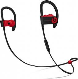 Słuchawki Apple  bezprzewodowe Powerbeats3 Wireless - The Beats Decade Collection - niepokorny czarno-czerwony (MRQ92EE/A)