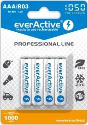 everActive Akumulator Professional Line AAA / R03 1050mAh 4szt.