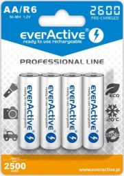 everActive Akumulator Professional Line AA / R6 2600mAh 4szt.