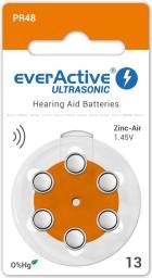 everActive Bateria do aparatów słuchowych PR48 6szt.