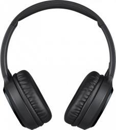 Słuchawki JVC Bezprzewodowe nauszne Bluetooth czarne, redukcja szumu (JVC HA-S80BN-B-E)