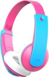 Słuchawki JVC HA-KD9BT różowe (HA-KD9BT-PE)