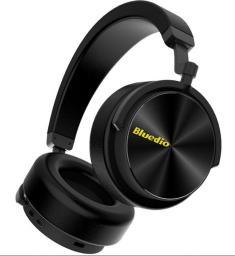 Słuchawki Bluedio T5 BEZPRZEWODOWE SŁUCHAWKI BT SUPER DŹWIĘK (BE-T5-BK)
