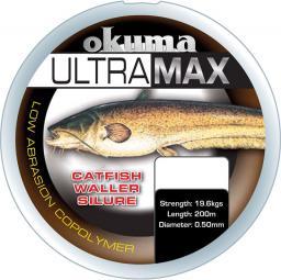 Okuma Ultramax 2oz Carp 385m 26lbs 12kg 0.40mm Brown (19184)