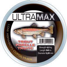 Okuma Ultramax 2oz Trout 1155m 9lbs 4.9kg 0.22mm Grey (19164)