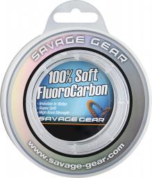 Savage Gear Soft Fluoro Carbon 0.39mm 35m 9.4kg 21lb (54852)