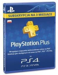 Playstation Plus subskrypcja 3 miesiące