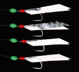 Ron Thompson Rig8 Flasher Rig Silver Reflector 4 #2 Hooks (42611)