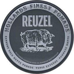 Reuzel REUZEL_Hollands Finest Pomade mocno utrwalająca pomada na bazie wody Black 35g