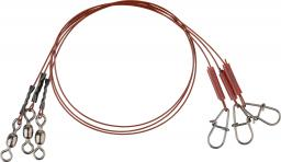 Savage Gear Blood49 Trace 30cm 0.48mm 11kg Swivel/Needle Snap 3szt. (54869)