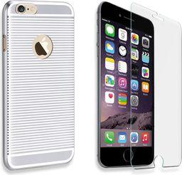 X-FITTED Etui X-FITTED Hard IPHONE 6/6S Zebra srebrne P6LDS
