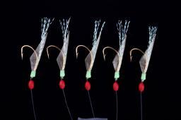 Imax Sabiki4 Herring 0.30/0.40mm 5 Hooks #10 (42554)
