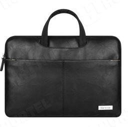 Torba Cartinoe Skórzana torba na laptopa 14-15,4 cala Cartinoe Dirigent Series czarna