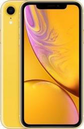 Smartfon Apple  iPhone XR 64 GB Dual SIM Żółty  (MRY72PM/A)