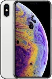 Smartfon Apple iPhone XS 256 GB Dual SIM Srebrny  (MT9J2PM/A)