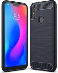 Hurtel Carbon Case elastyczne etui pokrowiec Xiaomi Mi A2 Lite / Redmi 6 Pro niebieski