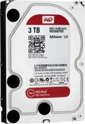 Dysk Western Digital Red, 3.5'', 3TB, SATA/600, 64MB cache (WD30EFRX)