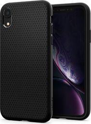 Spigen Nakładka Liquid Air do Apple iPhone XR czarna (064CS24872)