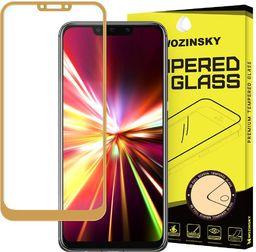 Wozinsky Wozinsky super wytrzymałe szkło hartowane Full Glue na cały ekran z ramką Huawei Mate 20 Lite złoty