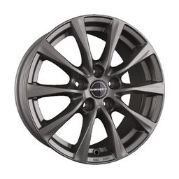 Borbet RE Metal Grey 7.5x17 5x108 ET45