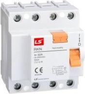 LSiS Wyłącznik różnicowoprądowy 2P 32A 0,03A typ AC RKN-2P-32A/30mA (06220106R0)