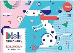 Blok biurowy GDD Blok rysunkowy kolor A3/15K HAPPY COLOR