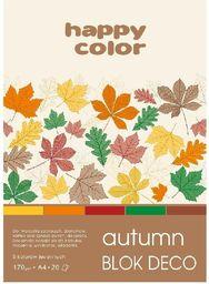 Blok biurowy GDD Blok A5/20K Deco Autumn 170g HAPPY COLOR