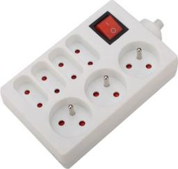 VELSTRO Przedłużacz gniazdowy z wyłącznikiem kabel 3G1 1m (VS-01-051)