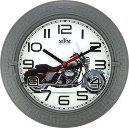 MPM Zegar ścienny średnica 22 cm Motor (E01.3688.92)