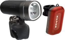 BLACKBURN Zestaw lampki Central  650 USB przód 650 lumenów tył 50 lumenów