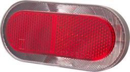 SPANNINGA Lampka tylna na bagażnik Elips XB 80mm + baterie